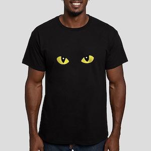 BLACK CAT COSTUME Men's Fitted T-Shirt (dark)