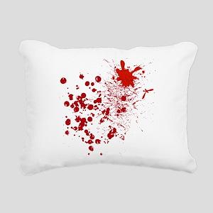 So Much Blood Rectangular Canvas Pillow