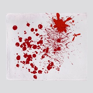 So Much Blood Throw Blanket