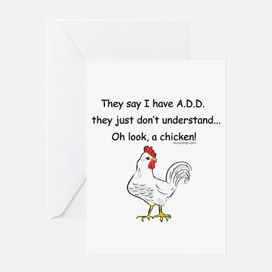 ADD Chicken Greeting Cards