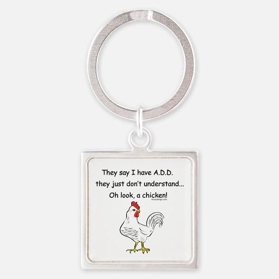 ADD Chicken Keychains