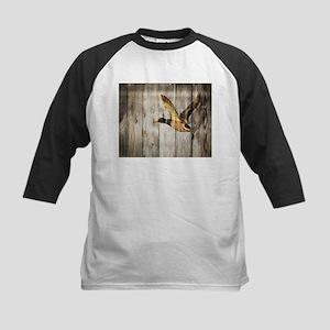 barnwood wild duck Baseball Jersey