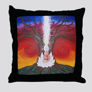 Tree Life Art The Lovers Throw Pillow