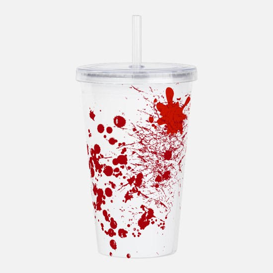 So Much Blood Acrylic Double-wall Tumbler