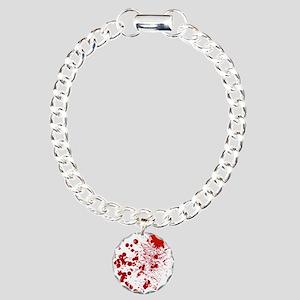 So Much Blood Charm Bracelet, One Charm