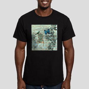 mint vintage jubilee butterfly floral bota T-Shirt