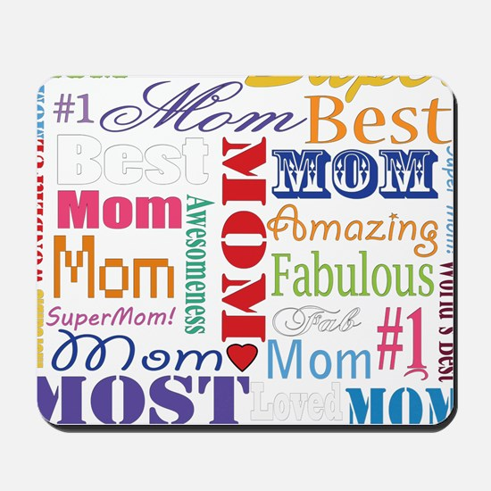 Text Mom Mousepad