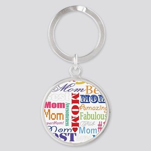 Text Mom Keychains