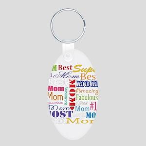 Text Mom Keychains