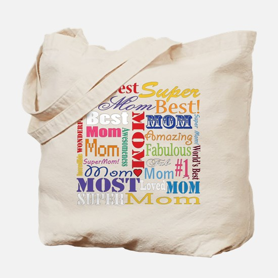 Text Mom Tote Bag
