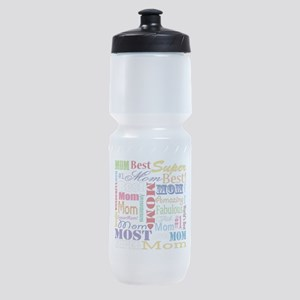 Text Mom Sports Bottle