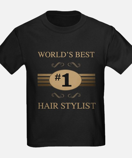 World's Best Hair Stylis T-Shirt