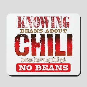 No Beans Mousepad