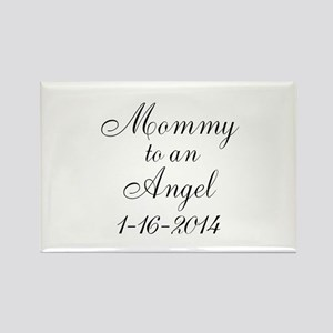 Personalizable Mommy to an Angel Magnets