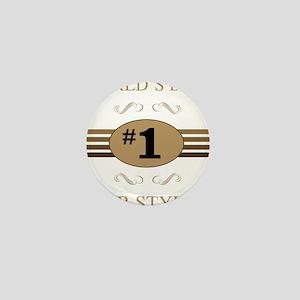 World's Best Hair Stylist Mini Button