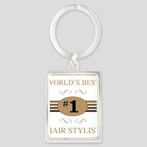 World's Best Hair Stylist Keychains