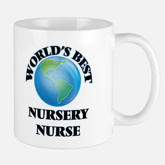 World's Best Nursery Nurse Mugs