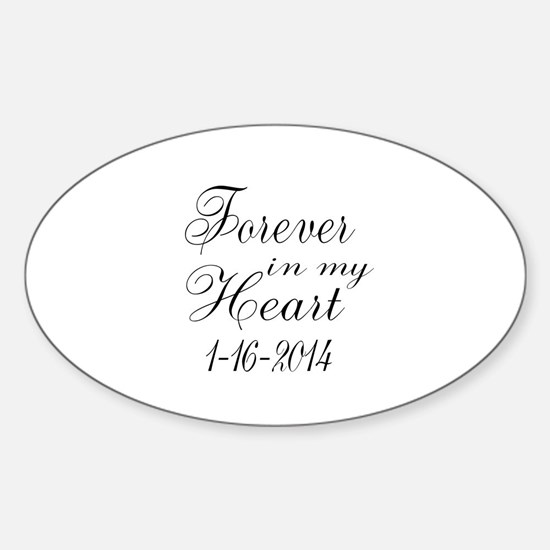 Forever in my Heart Decal