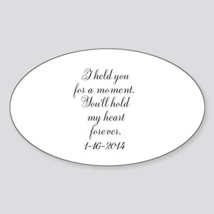 Personalizable For a Moment Sticker