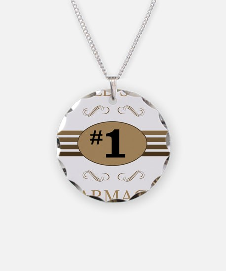 World's Best Pharmacist Necklace