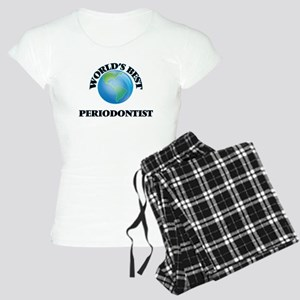 World's Best Periodontist Women's Light Pajamas