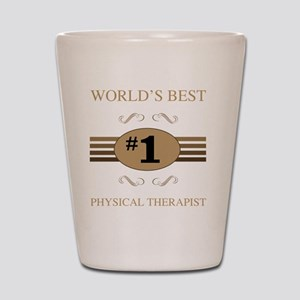 World's Best Physical Therapist Shot Glass