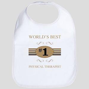 World's Best Physical Therapist Bib