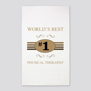 World's Best Physical Therapist 3'x5' Area Rug