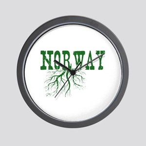 Norway Roots Wall Clock