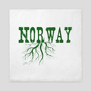 Norway Roots Queen Duvet