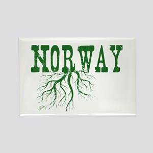 Norway Roots Rectangle Magnet