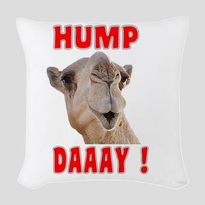 Hump Day Woven Throw Pillow