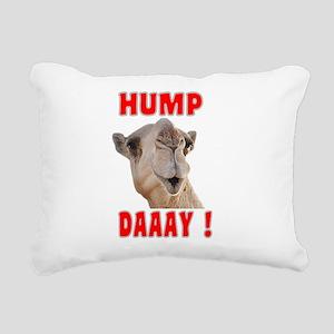 Hump Day Rectangular Canvas Pillow