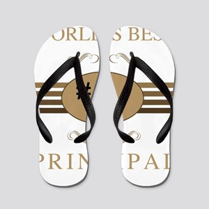 World's Best Principal Flip Flops