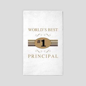 World's Best Principal 3'x5' Area Rug