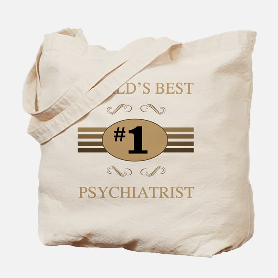 World's Best Psychiatrist Tote Bag