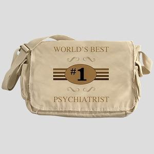 World's Best Psychiatrist Messenger Bag