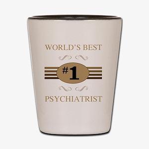 World's Best Psychiatrist Shot Glass