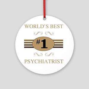 World's Best Psychiatrist Ornament (Round)