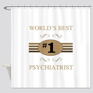 World's Best Psychiatrist Shower Curtain