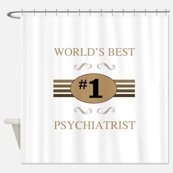 World's Best Psychiatrist Shower Curtain