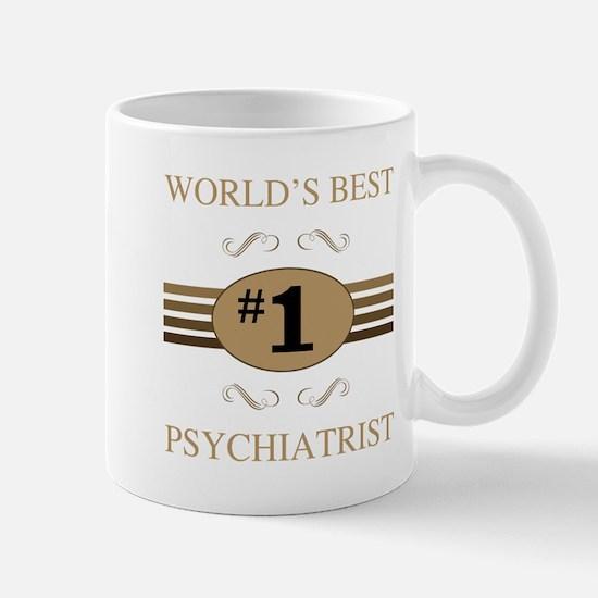 World's Best Psychiatrist Mugs