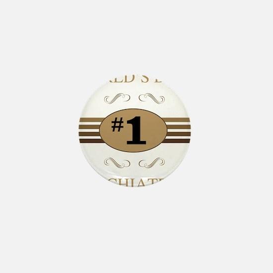 World's Best Psychiatrist Mini Button