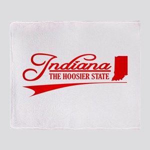 Indiana Throw Blanket