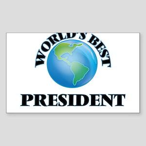 World's Best President Sticker
