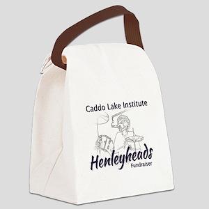 Caddo Lake Henleyheads Fundraiser Canvas Lunch Bag