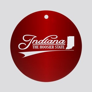 Indiana Ornament (Round)