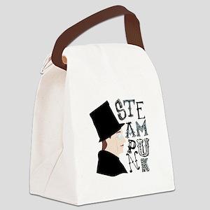 Steam Punk Canvas Lunch Bag
