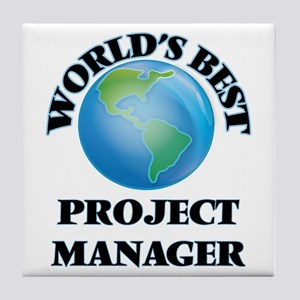 World's Best Project Manager Tile Coaster
