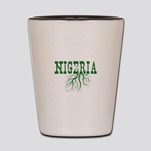 Nigeria Roots Shot Glass